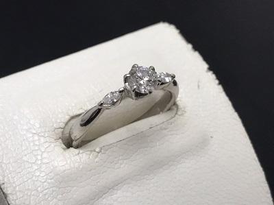 ダイヤモンド買取 Pt900 0.336ct 0.10ct 7.7g 宝石 神戸マルイ店 買取