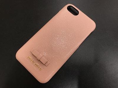 ミュウミュウ iPhoneケース買取 ブランド小物買取なら北区 西区 須磨区 MARUKA