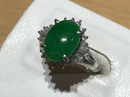 翡翠 指輪 買取 京都 ダイヤ リング 宝石 四条 烏丸
