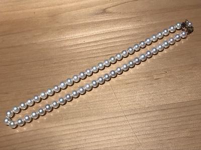 パール買取 ネックレス 真珠 K14 宝石 四条 買取