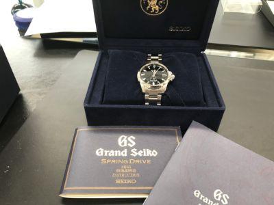 グランドセイコー買取 スプリングドライブ SBGA027 国産機械式時計買取もMARUKA心斎橋店