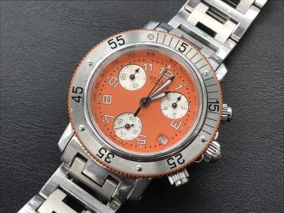 エルメス時計買取 クリッパー CL2.316 電池切れ 本体のみ ブランド時計買取MARUKA心斎橋店