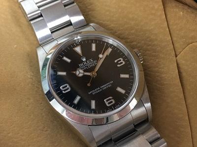 ロレックス エクスプローラーⅠ買取 14270 時計買取なら西宮市 芦屋市 宝塚市のMARUKA