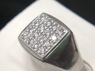 プラチナ台ダイヤモンドリング買取 0.35ct 古いファッションリング買取もMARUKA心斎橋店へ