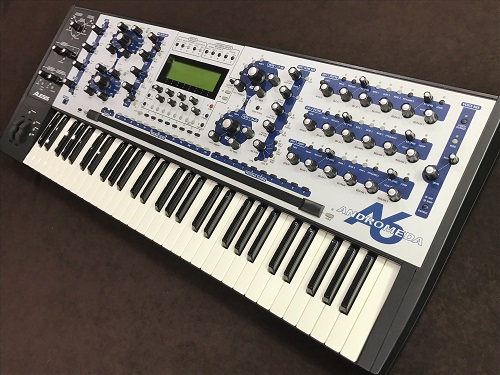 ALESIS ANDROMEDA A6 シンセサイザー ヴィンテージ 買取 出張買取 楽器 京都