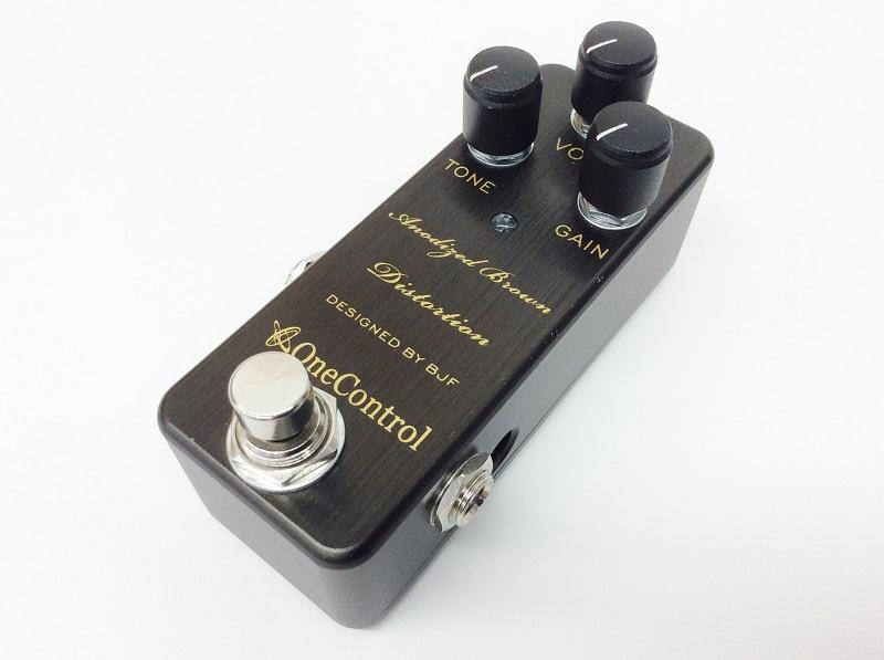 ONE CONTROL Anodized Brown Distortion  エフェクター 買取 京都 楽器 買取 四条