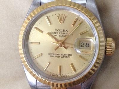 ロレックス買取 レディース デイトジャスト 69173 時計を大阪で売るならMARUKA心斎橋店