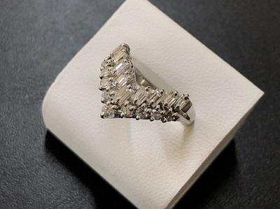 ダイヤモンドリング Pt900 1カラット ノンブランド 宝石買取 京都 四条河原町 京都マルイ店