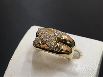 K18 ダイヤモンド 指輪買取 ジュエリー 宝石買取 北区 西区 垂水区 MARUKA