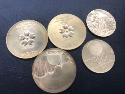 記念メダルが今驚きの価値に '70 EXPO&'64 東京オリンピック記念K18メダル買取 MARUKA心斎橋店