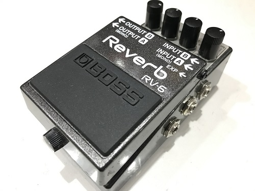 BOSS RV-6 Reverb 京都 四条 エフェクター買取 楽器買取 京都 四条烏丸 河原町