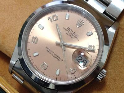 ロレックス買取 オイスターパーペチュアルデイト 時計買取 デイトナ サブマリーナ ロレックスの高価買取はMARUKA渋谷店