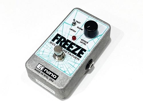 Electro-Harmonix FREEZE SOUND RETAINER エフェクター買取 楽器買取 京都 四条烏丸