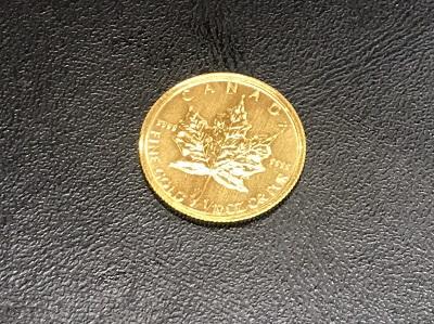 金貨買取 メイプルリーフ 金貨 K24 1/10oz 高価買取 貴金属 MARUKA 港山下ナナイロ 高い