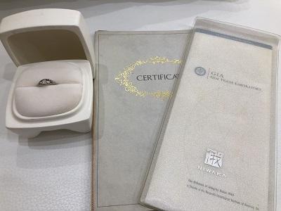 指輪 ダイヤモンド プラチナ買取 俄 婚約指輪買取 神戸駅 元町駅 神戸三宮 MARUKA