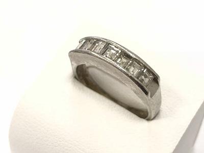 プラチナリング買取 ダイヤモンド 一文字デザイン 1カラット Pt900 指輪 宝石 買取 京都 四条 河原町 マルイ店