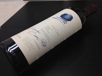 ワイン オーパスワン 2011 カリフォルニアワイン お酒 高価買取 京都 下京区 祇園 河原町 マルカ 京都マルイ