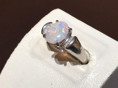 オパール 買取 宝石 指輪 京都 四条 ジュエリー ダイヤ プラチナ