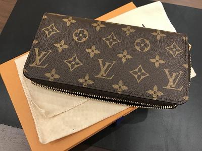 ルイヴィトン ジッピーウォレット モノグラム 買取 M42616 MARUKA 神戸マルイ店4階 三宮 神戸