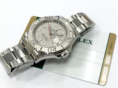ロレックス買取 ヨットマスター40 ロレジウム 116622 Aランク 時計 ブランド買取 京都 四条 河原町 マルイ店