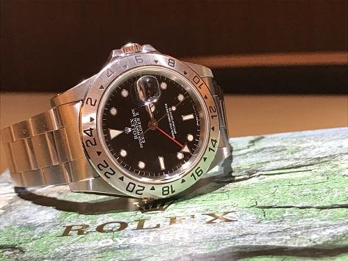 ロレックス エクスプローラー2 買取 時計 京都 四条 ブランド 16570