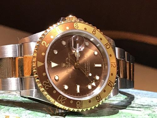 ロレックス GMTマスター2 時計 買取 京都 四条 烏丸 ブランド 16713