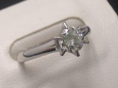 ダイヤモンド買取 プラチナ 1.23ct G/VS2/VG 鑑別書なくてもきちんと査定 MARUKA心斎橋店