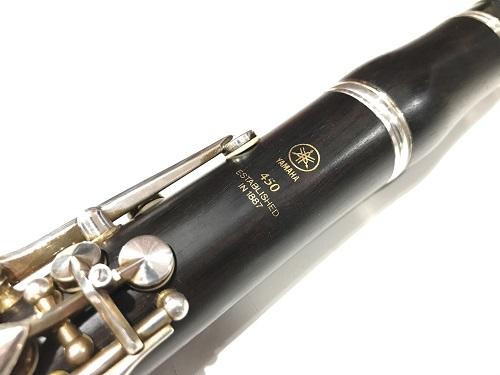 YAMAHA YCL-450 クラリネット 買取 高い 京都 楽器 買取 四条 大丸 アップルストア