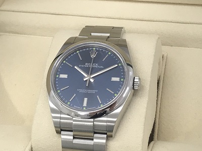 ロレックス オイスターパーペチュアル39 買取 114300 時計 買取 打出 香櫨園 西宮  MARUKA