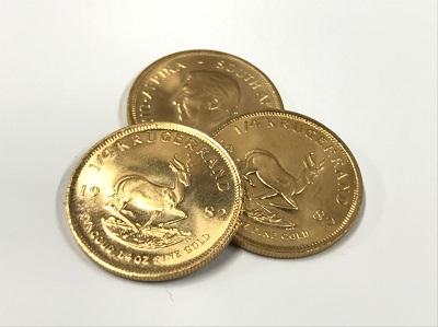 金貨買取 クルーガーランドコイン K22 3枚 25.2g コイン買取 貴金属 二子玉川 マルカ