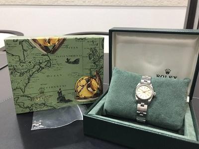 ロレックス オイスターパーペチュアル 67230 W番 買取 MARUKA玉川髙島屋S・C店 時計買取 世田谷