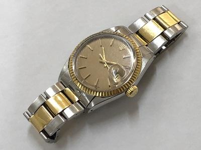 ロレックス買取 デイトジャスト メンズ 1601 旧型 本体のみ 時計 ブランド買取 京都 四条 河原町 マルイ店