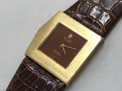 ロレックス買取 チェリーニ イエローゴールド アンティーク 時計 手巻き ブランド買取 京都 四条 河原町 マルイ店