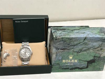 ロレックス買取 デイトジャスト サンダーバード Ref.16264 K番 箱付き ロレクス買取もMARUKA七条店へ