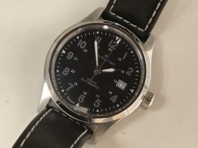 ハミルトン カーキ買取 時計 ブランド 買取  神戸 元町 三宮MARUKA