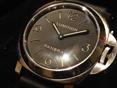 パネライ 買取 横浜 ルミノールベース PAM00112 時計買取 みなとみらい