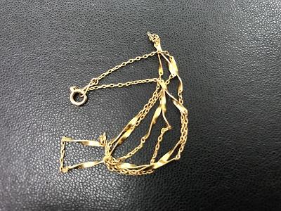 K18 ネックレス買取 金 ゴールド買取 神戸 元町 三宮 MARUKA
