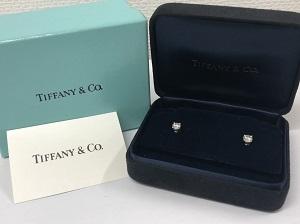ダイヤモンド買取 ティファニーのピアスをMEGAドンキ港山下ナナイロ店にて高価買取!