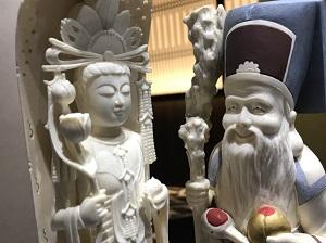 骨董品買取 象牙 置物 出張買取 横浜 銀座 元町・中華街
