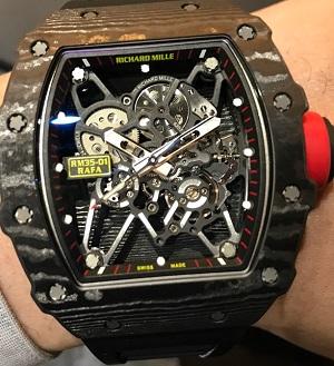 リシャールミル買取 ラファエルナダルRef.RM35-01世界最高峰時計ブランドリシャールミル!