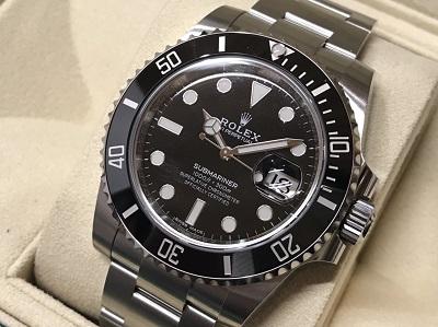 ロレックス買取 サブマリーナデイト 116610LN 未使用 時計買取 二子玉川 世田谷区
