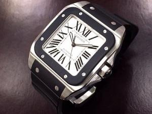 カルティエ サントス100 買取 横浜 時計買取 みなとみらい 質屋