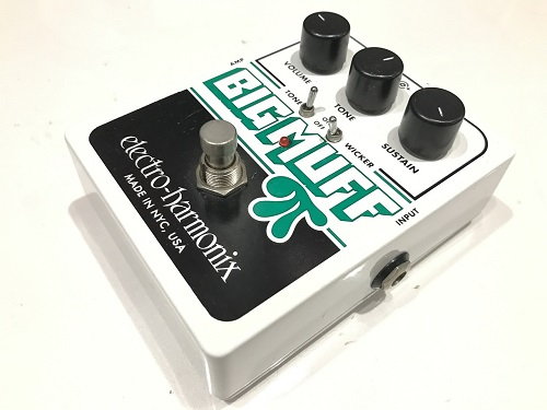 Electro-Harmonix Big Muff with Tone Wicker エフェクター買取 エレハモ買取 楽器買取 京都 四条烏丸