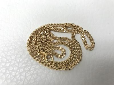 金 ゴールド ネックレス買取 喜平 チェーンK18買取 神戸 元町 三宮 MAURKA
