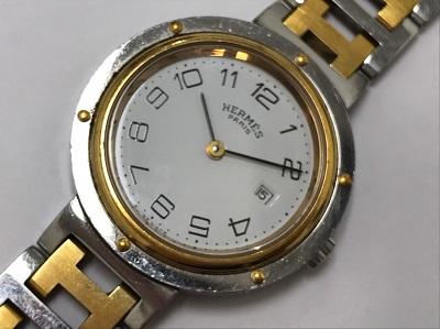 エルメス買取 時計買取 クリッパー GP SS 高価買取ならマルカ 四条 七条 西院 西大路