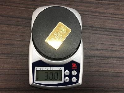K24インゴット買取 純金をマルカで売る 30グラム 貴金属 国際取引 関西 関東 四条大宮店 近畿 京都 神戸 中京区 阪急