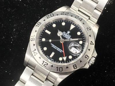 ロレックス買取 エクスプローラー2 16570 F番(2003年)本体のみ 購入時定価とほぼ同じ MARUKA心斎橋店