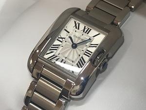 カルティエ タンクアングレーズ買取 横浜 時計買取 みなとみらい 質屋 高い