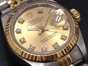 ロレックス デイトジャスト 69173G 買取 横浜 新山下 時計買取 みなとみらい