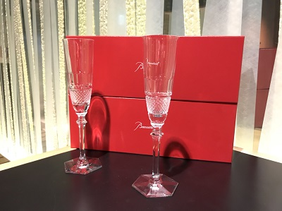 バカラ買取 シャンパングラス2セット MARUKA渋谷店 道玄坂 宮益坂 高価買取 高い ロックグラス